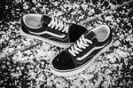 Vans Old Skool Black Fur (с мехом) фото 3