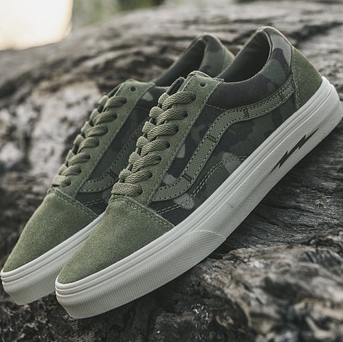 Vans Old Skool x DEFCON Сamouflage
