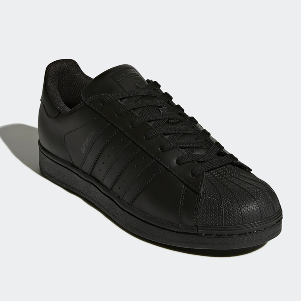 ADIDAS SUPERSTAR FOUNDATION ALL BLACK (AF5666)