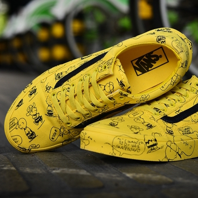 "VANS X PEANUTS ""Yellow"""