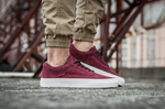 Vans Old Skool Suede Vinous фото 7