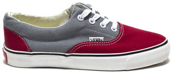 Vans Era Red Grey