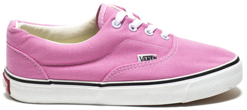 Vans Era White Pink