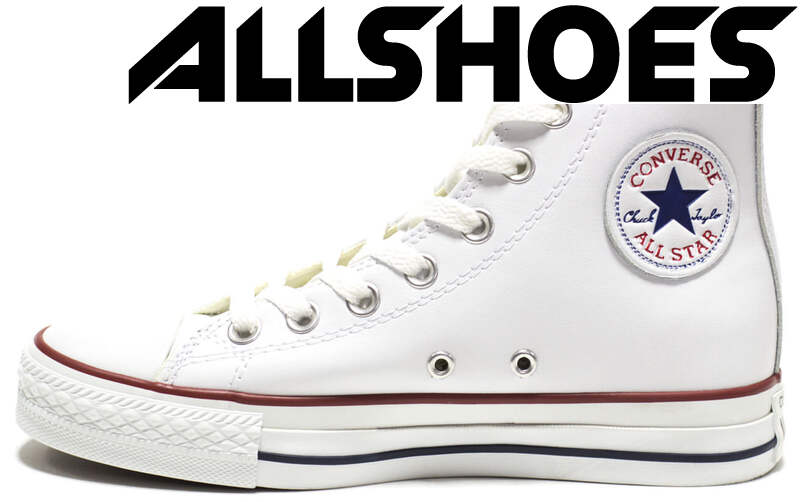 Converse All Star High Leather White