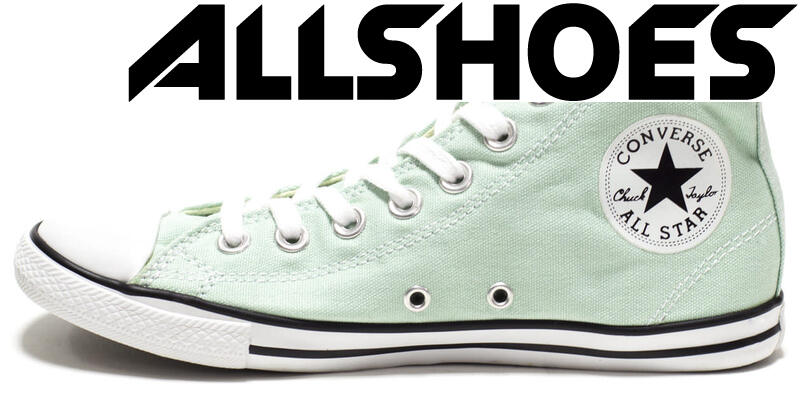 Converse All Star Slim High Mint Green