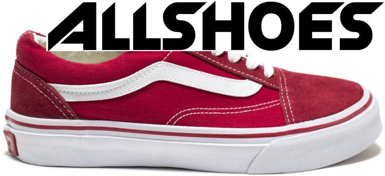 Уцененные Vans Old Skool Red