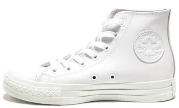 Уцененные Converse All Star High Leather White Monochrome