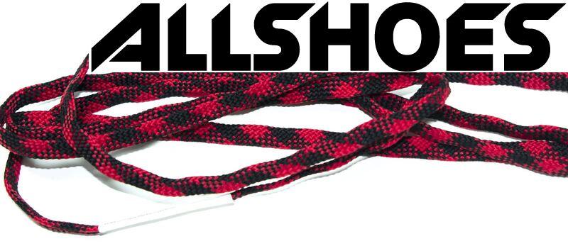 Шнурки Black Red
