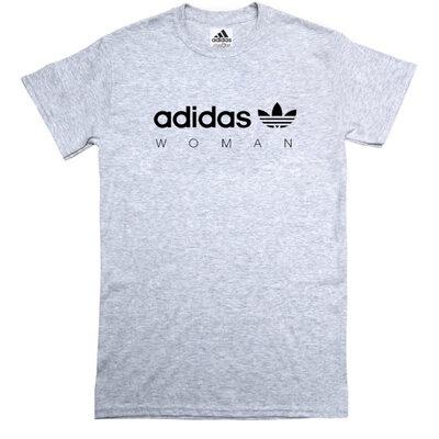Футболка Adidas Woman Gray