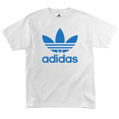 Футболка Adidas Classic Logo White