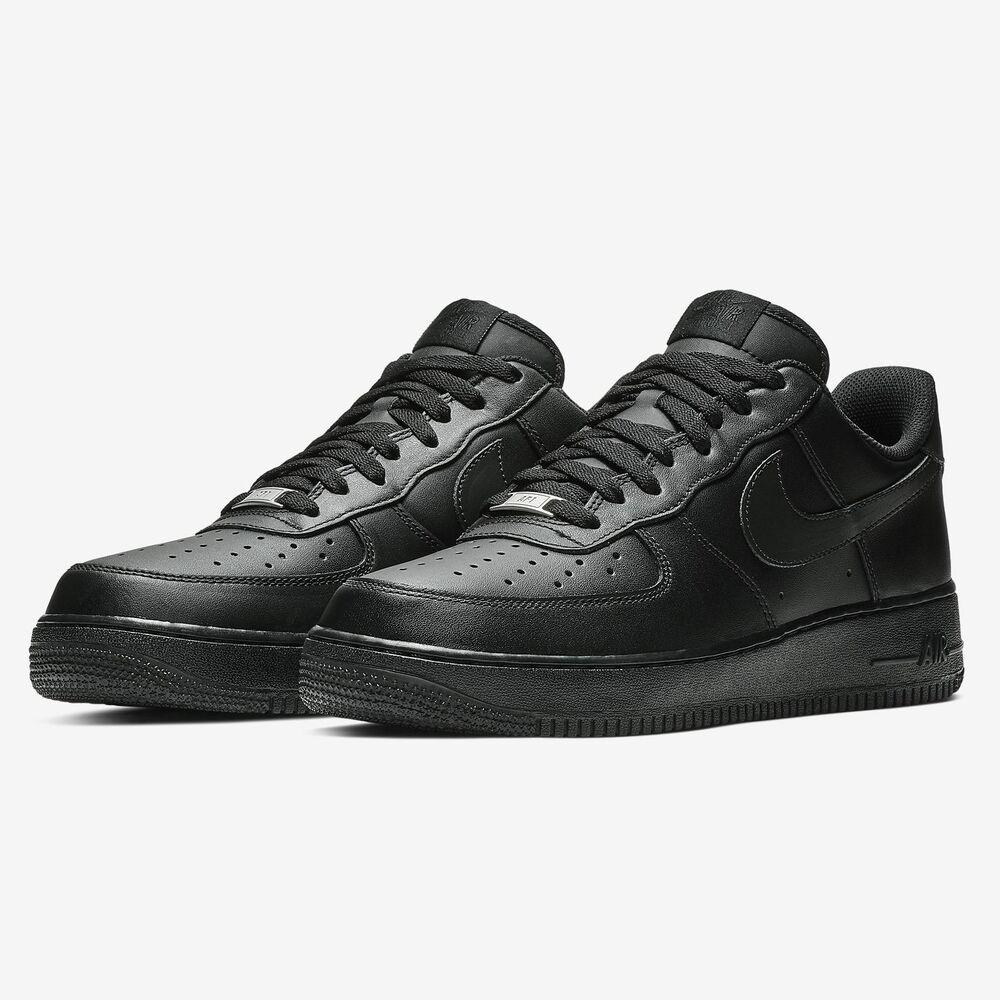 Nike Air Force Leather Black (315122 001)