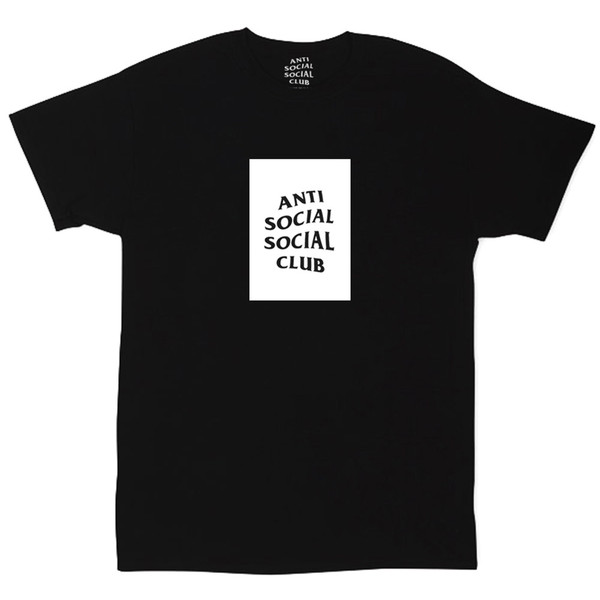 Футболка Anti Social Social Club Black