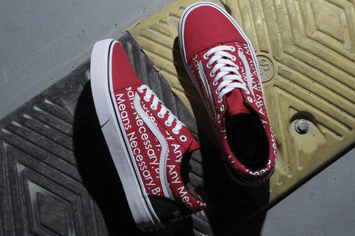 Уцененные Vans Old Skool The North Face x Supreme