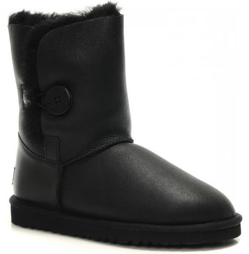 UGG Australia Bailey Button Metallic Black