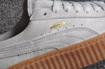 Puma Fenty by Rihanna Creepers Suede Grey Brown фото 7