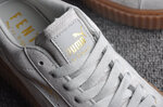 Puma Fenty by Rihanna Creepers Suede Grey Brown фото 6