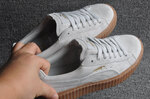 Puma Fenty by Rihanna Creepers Suede Grey Brown фото 4