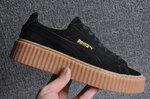 Puma Fenty by Rihanna Creepers Suede Black Brown фото 13