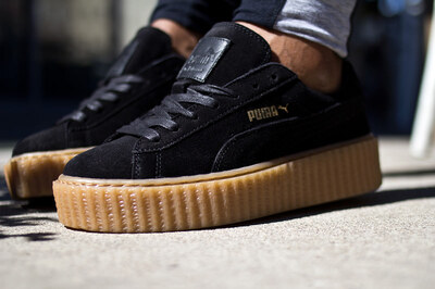 Puma Fenty by Rihanna Creepers Suede Black Brown
