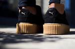 Puma Fenty by Rihanna Creepers Suede Black Brown фото 3