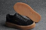 Puma Fenty by Rihanna Creepers Suede Black Brown фото 4
