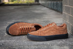 Vans Old Skool Suede Black Brown  фото 9