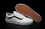 Vans Old Skool Leather White фото 7