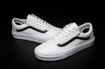 Vans Old Skool Leather White фото 3