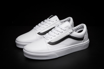 Vans Old Skool Leather White
