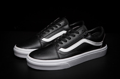 Vans Old Skool Leather Black