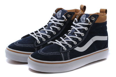 Vans Sk8 Hi Leather Autumn Blue