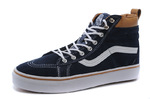 Vans Sk8 Hi Leather Autumn Blue фото 4