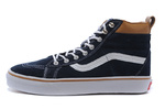 Vans Sk8 Hi Leather Autumn Blue фото 3