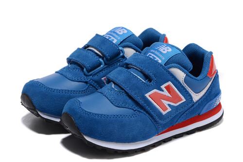 Детские кроссовки New Balance 574 Red Blue