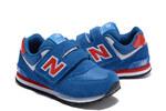 Детские кроссовки New Balance 574 Red Blue фото 3