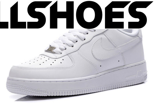 Детские кроссовки Nike Air Force Low All White