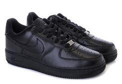 Детские кроссовки Nike Air Force Low Monochrome Black