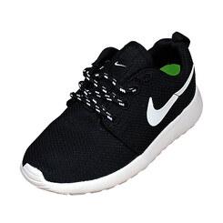 Детские кроссовки Nike Roshe Run Black White