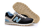 New Balance 574 Blue Black (New Collection!) фото 7