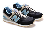 New Balance 574 Blue Black (New Collection!) фото 6