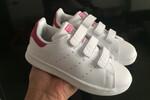 Детские кроссовки Adidas Stan Smith Low White Pink фото 3