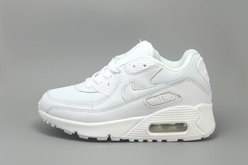 Детские кроссовки Nike Air Max 90 Monochrome Leather White