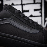 Vans Old Skool Suede Monochrome Black фото 2