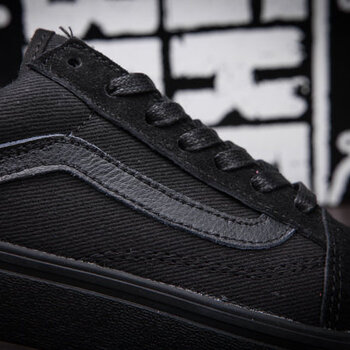 Vans Old Skool Suede Monochrome Black