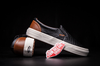 Vans Slip-On Snake Black