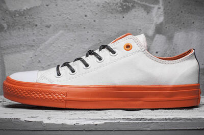 Converse Cons White/Orange