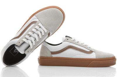 Vans Old Skool White Gray