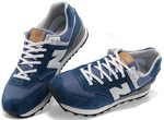New Balance 574 White Blue фото 2