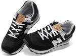 New Balance 574 Black White фото 2