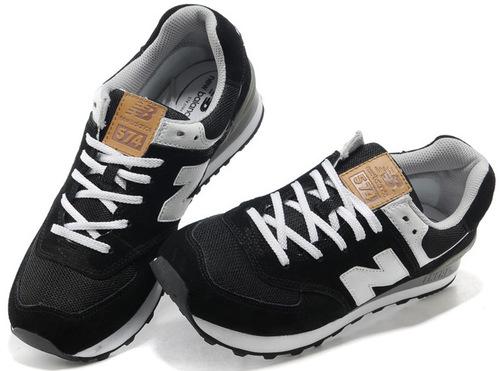 Уцененные New Balance 574 Black White